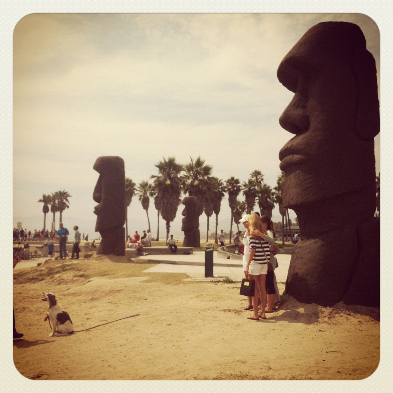 "Easter Island Beaches: ""Where's The Art?"": On Looking At The Venice Beach"