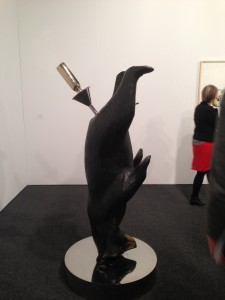 Richard Jackson's Beer Bear, 2010 at David Kordansky